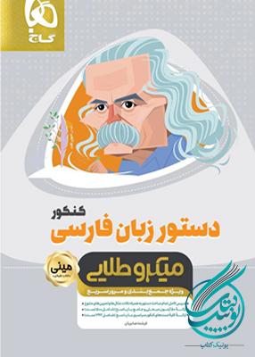 دستور زبان فارسی کنکور مینی میکرو طلایی گاج